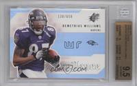 Demetrius Williams /650 [BGS9.5]