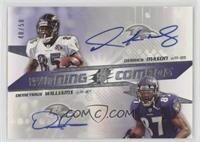 Derrick Mason, Demetrius Williams /50