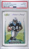 DeAngelo Williams /32 [PSA 10 GEM MT]
