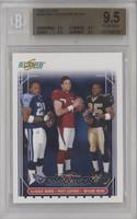 LenDale White, Matt Leinart, Reggie Bush [BGS 9.5 GEM MINT]