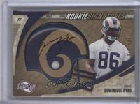 Dominique Byrd #/100
