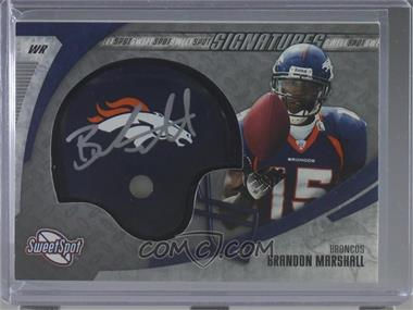 2006 Sweet Spot - Signatures #SSS-BM - Brandon Marshall