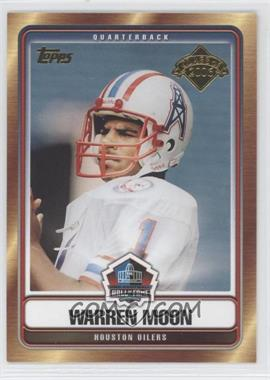 2006 Topps - Hall of Fame Class of 2006 #HOFT-WM - Warren Moon