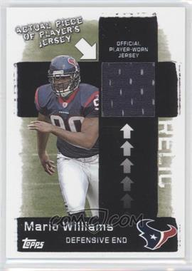 2006 Topps - Target Jerseys #5 - Mario Williams