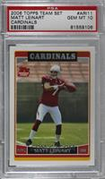 Matt Leinart [PSA 10 GEM MT]