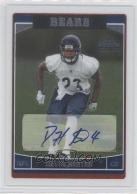 2006 Topps Chrome - [Base] - Rookie Autographs [Autographed] #252 - Devin Hester