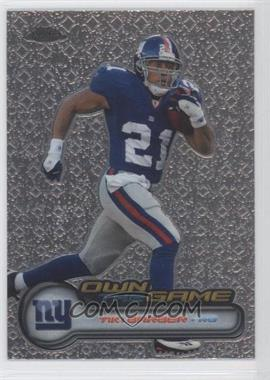 2006 Topps Chrome - Own the Game #OTG4 - Tiki Barber