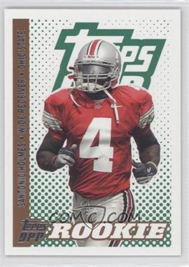 2006 Topps Draft Picks and Prospects (DPP) - [Base] #130 - Santonio Holmes