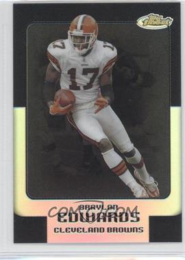 2006 Topps Finest - [Base] - Black Refractor #91 - Braylon Edwards /99