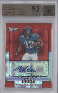 2006 Topps Finest - [Base] - X-Fractor #164 - Maurice Jones-Drew /250 [BGS 9.5 GEM MINT]