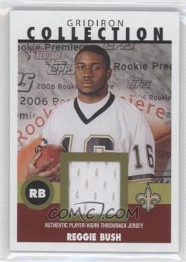 2006 Topps Heritage - Gridiron Collection Throwback Relics #GC-RB - Reggie Bush