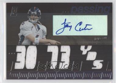 2006 Topps Paradigm - Career Highs Autographed Triple Relic #TPCHP-JC - Jay Cutler /99