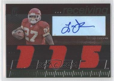 2006 Topps Paradigm - Career Highs Autographed Triple Relic #TPCHRE-LJ - Larry Johnson /99