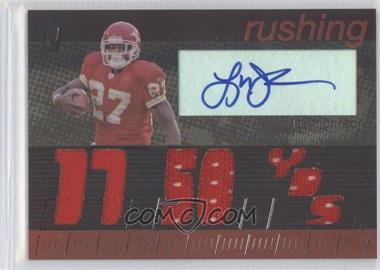 2006 Topps Paradigm - Career Highs Autographed Triple Relic #TPCHTD-LJ - Larry Johnson /99