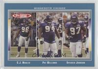 C.J. Mosley, Pat Williams, Spencer Johnson
