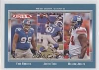 Fred Robbins, Justin Tuck, William Joseph
