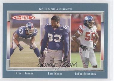 2006 Topps Total - [Base] - Total Blue #336 - Reggie Torbor, Eric Moore, LaVar Arrington
