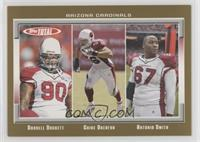 Darnell Dockett, Chike Okeafor, Antonio Smith