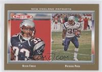 Kevin Faulk, Patrick Pass