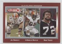 Joe Andruzzi, LeCharles Bentley, Ryan Tucker