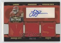 Larry Johnson #/18