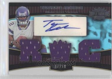 2006 Topps Triple Threads - [Base] - Sapphire #111 - Tarvaris Jackson /10
