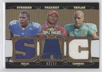 Dwight Freeney, Jason Taylor, Michael Strahan #3/27