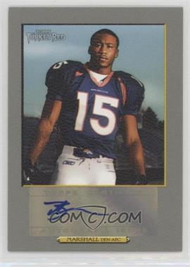 2006 Topps Turkey Red - Autographs #TRA-BM - Brandon Marshall