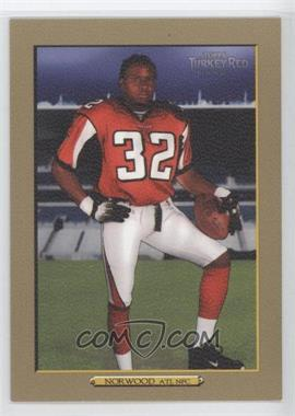 2006 Topps Turkey Red - [Base] - Gold #220 - Jerious Norwood /50