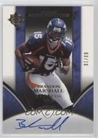 Ultimate Rookie Signatures - Brandon Marshall #/10