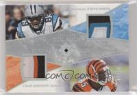 Steve Smith, Chad Johnson #/50