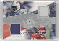 LaDainian Tomlinson, Larry Johnson #/50