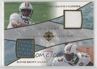 Daunte Culpepper, Ronnie Brown [Noted] #/99