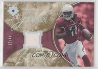 Larry Fitzgerald [EX to NM] #/40