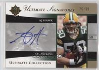 AJ Hawk #/99