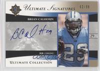 Brian Calhoun /99