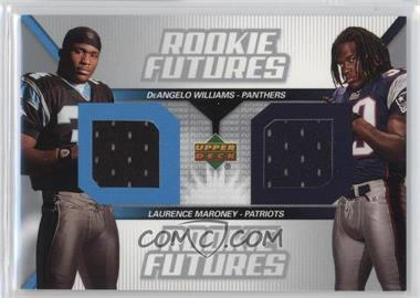 2006 Upper Deck - Rookie Futures Dual #RF2-WM - Laurence Maroney, DeAngelo Williams
