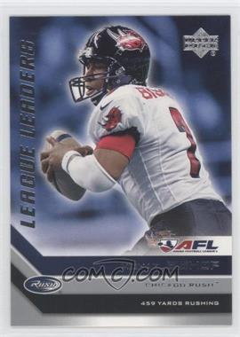 2006 Upper Deck Arena Football - League Leaders #LL5 - Michael Bishop