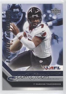 2006 Upper Deck Arena Football - League Leaders #LL6 - Michael Bishop