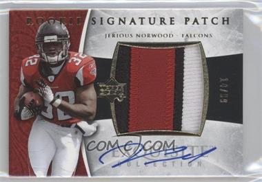 2006 Upper Deck Exquisite Collection - [Base] - Gold #118 - Rookie Signature Patch - Jerious Norwood /99