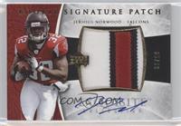 Rookie Signature Patch - Jerious Norwood #/99