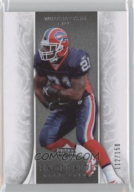 2006 Upper Deck Exquisite Collection - [Base] #8 - Willis McGahee /150
