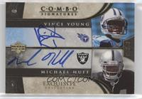 Vince Young, Michael Huff #/20