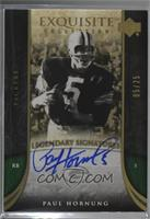 Paul Hornung [Noted] #/25
