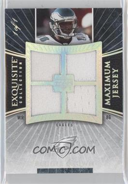 2006 Upper Deck Exquisite Collection - Maximum Jersey - Spectrum #XXL-RB - Reggie Brown /1