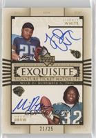 LenDale White, Maurice Jones-Drew #/25