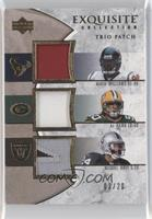 Mario Williams, A.J. Hawk, Michael Huff /20