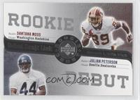 Santana Moss, Julian Peterson
