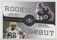 Jeremy Shockey, Bubba Franks