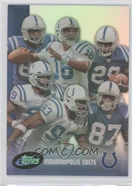 2006 eTopps - Team Cards #1 - Indianapolis Colts Team /799